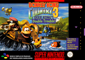 Jaquette Donkey Kong Country 3: Dixie Kong's Double Trouble!