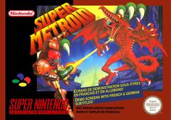 Jaquette Super Metroid
