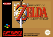 Jaquette The Legend of Zelda : A Link to the Past