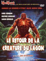 Affiche Le Retour de la créature du lagon