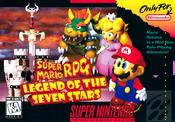 Jaquette Super Mario RPG: Legend of the Seven Stars