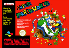 Jaquette Super Mario World