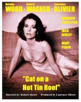 Affiche La Chatte sur un toit brûlant