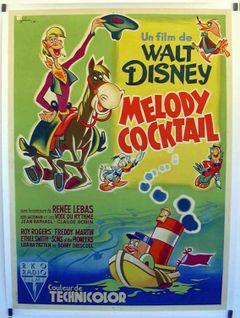 Affiche Mélodie Cocktail