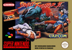 Jaquette Street Fighter II