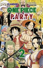 Couverture One Piece Party, tome 2