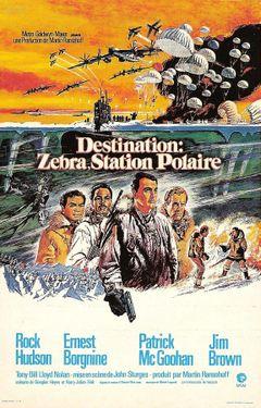 Affiche Destination : Zebra, station polaire