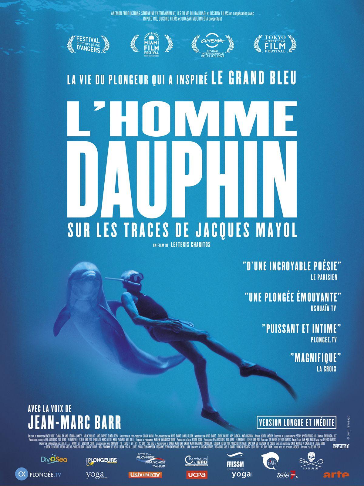 L'Homme dauphin, sur les traces de Jacques Mayol (2018) Dolphin Man - Lefteris Charitos - 720p HDTV - French