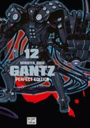 Couverture Gantz Perfect Edition, tome 12