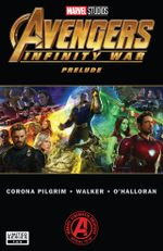 Couverture Marvel's Avengers: Infinity War Prelude