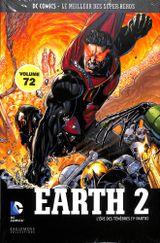 Couverture Earth 2 : L'Ère des Ténèbres (1ère partie) - DC Comics, Le Meilleur des Super-Héros, tome 72