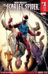 Couverture Ben Reilly: Scarlet Spider (2017-Present)