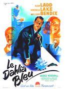 Affiche Le Dahlia bleu