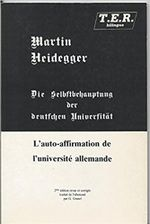 Couverture L'Auto-affirmation de l'université allemande