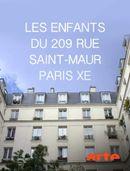 Affiche Les enfants du 209 rue Saint-Maur, Paris, Xe