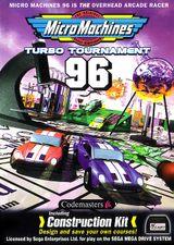 Jaquette Micro Machines : Turbo Tournament '96