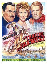 Affiche Le Traître du Far West