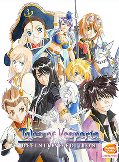 Jaquette Tales of Vesperia: Definitive Edition