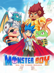 Jaquette Monster Boy et le Royaume Maudit