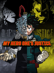 Jaquette My Hero One's Justice