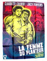 Affiche La Femme du planteur