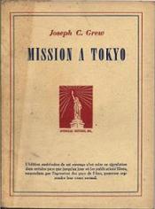 Couverture Mission à Tokyo