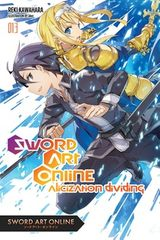 Couverture Sword Art Online 13 : Alicization Dividing