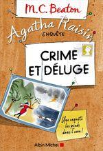 Couverture Agatha Raisin enquête - Crime et Déluge