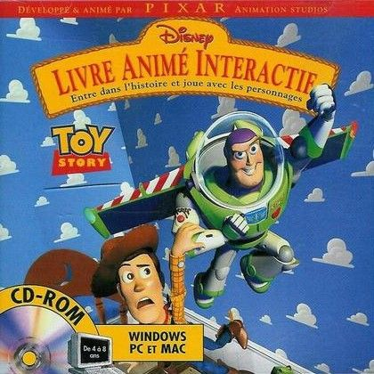 Toy Story Le Livre Anime Interactif 1996 Jeu Video