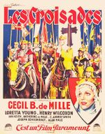 Affiche Les Croisades