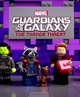 Affiche Lego Marvel Super Heroes - Guardians of the Galaxy: The Thanos Threat