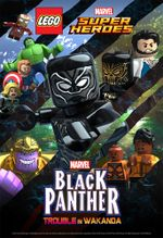 Affiche Lego Marvel Super Heroes - Black Panther: Trouble in Wakanda