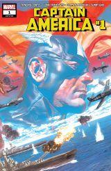 Couverture Captain America (2018 - Present)
