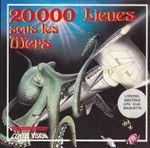 Jaquette 20 000 Lieues sous les Mers