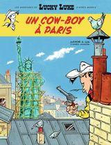 Couverture Un cow-boy à Paris - Les Aventures de Lucky Luke d'après Morris, tome 8