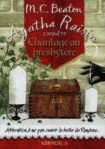 Couverture Agatha Raisin enquête - Chantage au presbytère