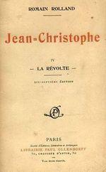 Couverture Jean-Christophe, tome 4 - La Révolte