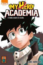 Couverture Lutte contre le destin - My Hero Academia, tome 15