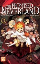 Couverture The Promised Neverland, tome 3