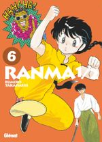 Couverture Ranma 1/2 (Édition originale), tome 6
