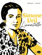 Couverture Simone Veil - L'immortelle