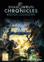 Jaquette Shadowrun Chronicles : Boston Lockdown