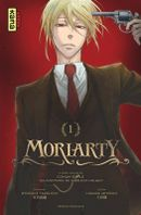 Couverture Moriarty, Tome 1