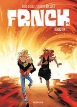 Couverture L'Éruption - Frnck, tome 4