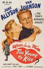 Affiche Too young to kiss