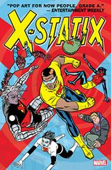 Couverture X-Statix, Vol. 2: Good Guys and Bad Guys