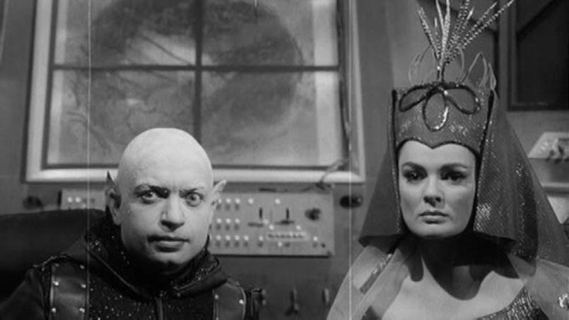 Illustration Frankenstein et le monstre de l'espace