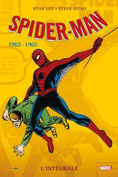 Couverture 1962-1963 - Spider-Man : L'Intégrale, tome 1