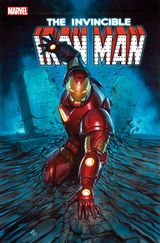 Couverture The Search For Tony Stark - Invincible Iron Man (2016), tome 3