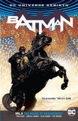 Couverture Batman (Rebirth), tome 5